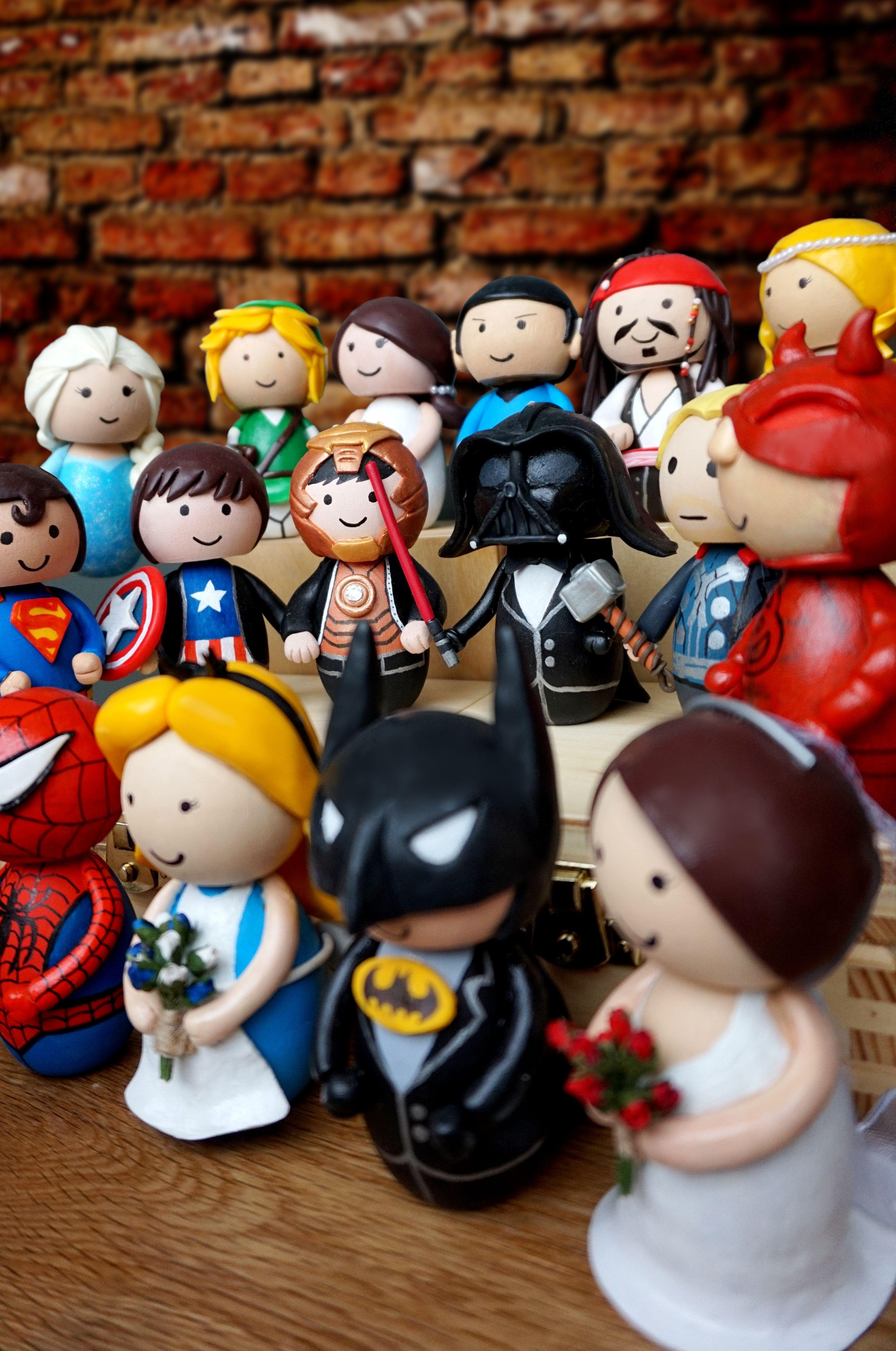 Superhero Wedding Cake Toppers Www Ohmyhero Co Uk