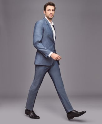 46d27be1ace0c3 Inc International Concepts Men's Chambray Suit Pants, Created for Macy's -  Blue 36x32