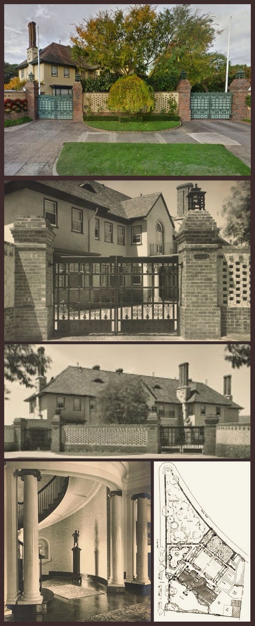 Eulinya, Toorak, is a large house with an extensive garden; both ...