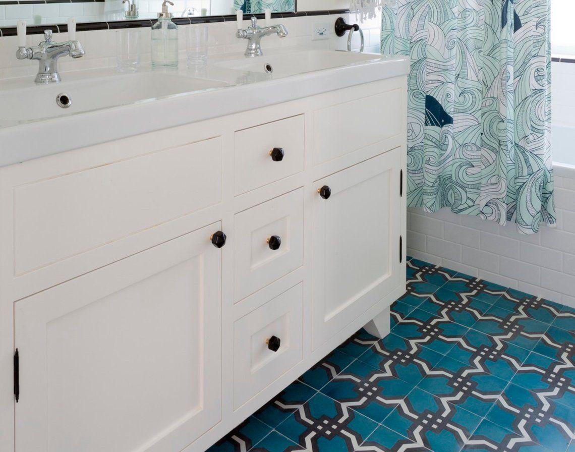 Cement Tile Tejido Weave Style 8 Inch Square Tile Set Etsy Geometric Tiles Cement Tile Encaustic Tiles Kitchen
