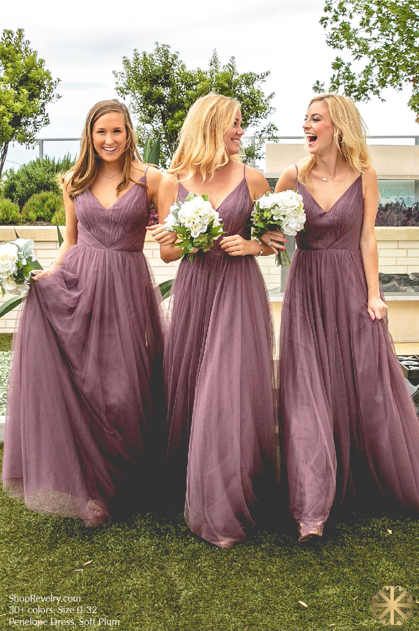 Penelope tulle dress wedding disney bridesmaids and july wedding
