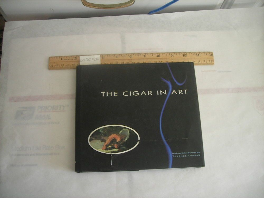 Terence Conran THE CIGAR IN ART Smoking Culture Pictorial History Casual Delight