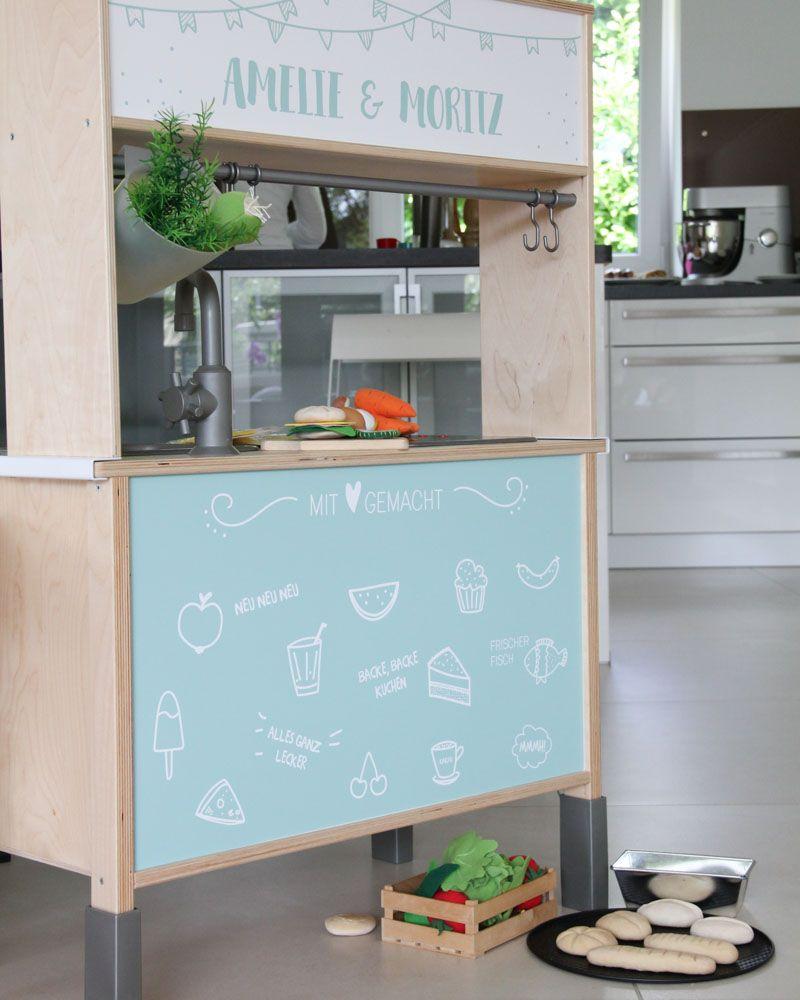 Basteln mit Salzteig: Zubehör für die Kinderküche und den Kaufladen ...