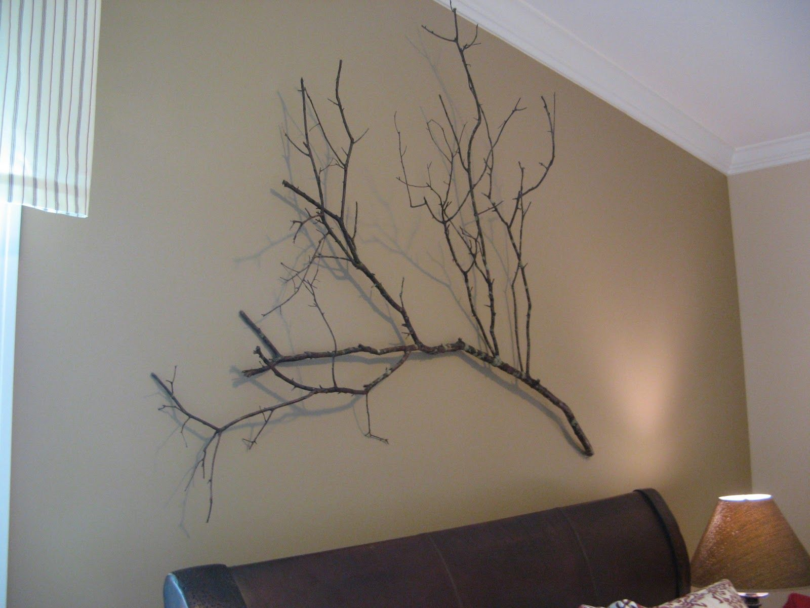 Tree Branch Wall Art, Crate And Barrel Knock Off, Rustic Wall Art, Natural Wall  Art, Unique Wall Art