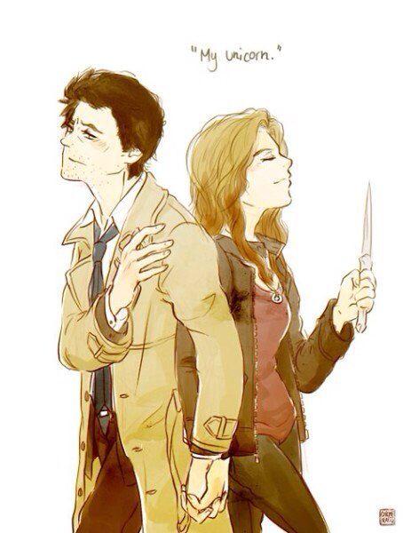 Castel and Meg :3