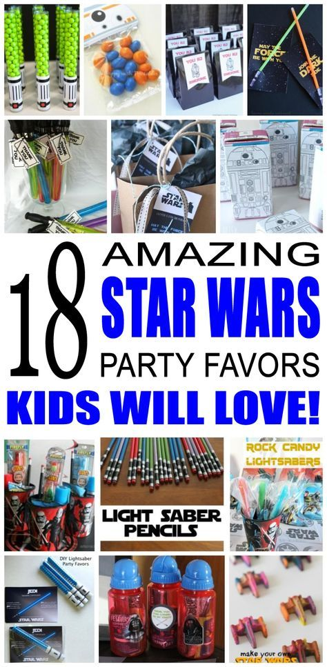 Fun Kids Star Wars Party Favor Ideas Try These Diy Favors For