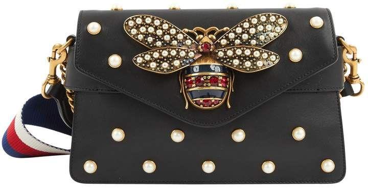 e5e4cc919a5 Gucci Leather mini bag