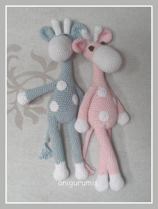 Patrón gratis amigurumi de jirafa | crochet y punto | Pinterest ...