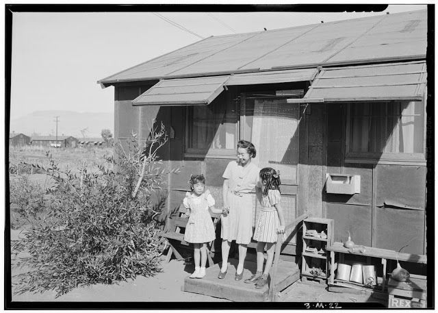 vintage everyday: Pictures of Daily Life of Japanese Internment at Manzanar Camp in 1943 and 1944
