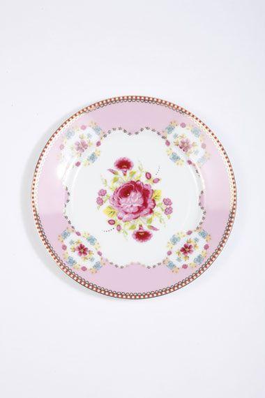 Pip Studio Rose Plate