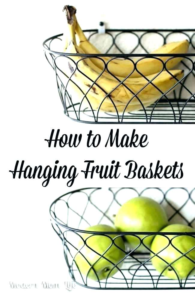 Hanging Fruit Bowl T Basket Hanging Baskets 3 Tier Wall Large Bowl Storage Racks T Basket Hanging Ceram Hanging Fruit Baskets Baskets On Wall Fruit Baskets Diy