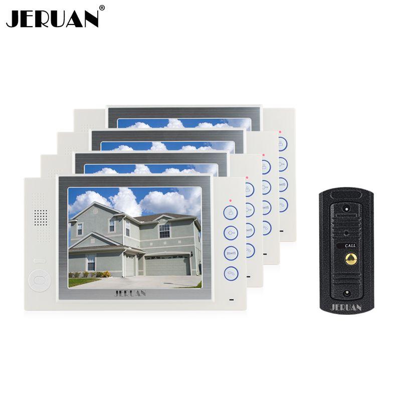 Smart Türklingel Intercom Fingerprint Passwort Video Türklingel IR Wasserdicht