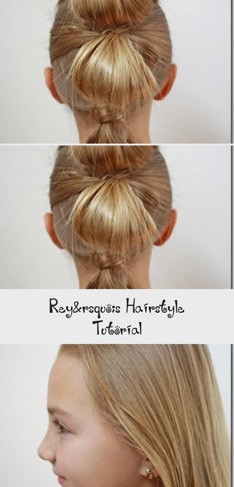 Have You Seen Rey S Hairstyle From The Force Awakens I Loved It Right Away Princess Leia S Iconic Hair I In 2020 Hair Tutorial Short Hair Tutorial Long Hair Tutorial