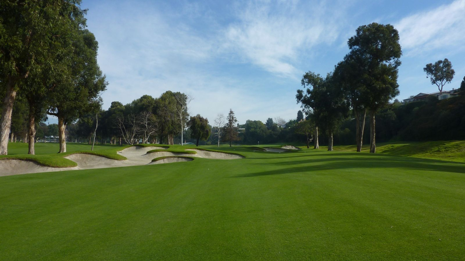 Riviera Country Club, CA. Home of the Northern Trust Open on the PGA Tour.