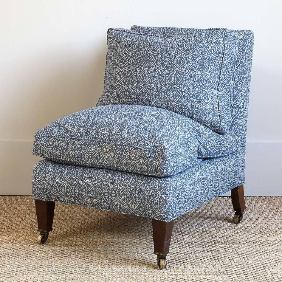 Vintage Slipper Chair | BungalowClassic
