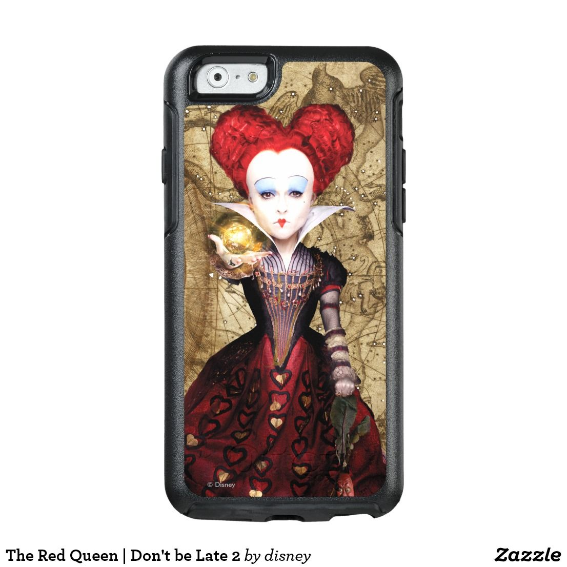 The Red Queen Don T Be Late 2 Otterbox Iphone Case Zazzle Com Iphone Cases Otterbox Iphone Otterbox