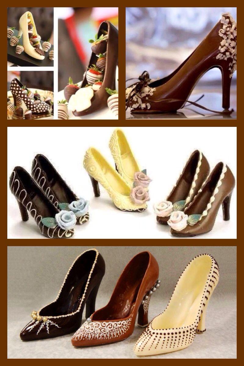 e1fa92223a82 Chocolate high heel shoes …
