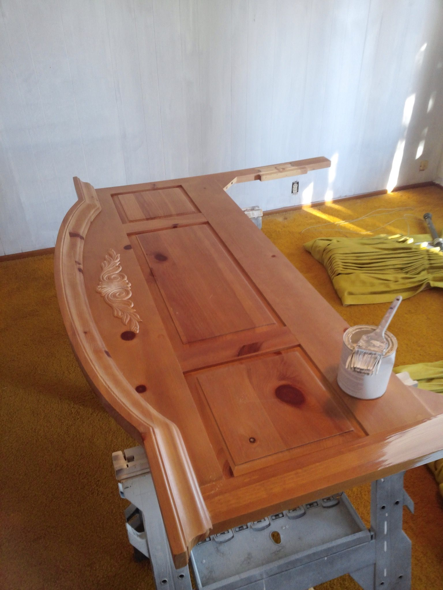 Diary of a Thrift Store Bed (Or, How to paint a piece of furniture) - The Treasured Home
