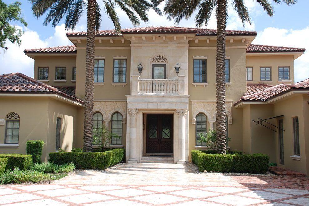 Image Result For Mediterranean House Column Mediterranean Homes House Columns House Styles