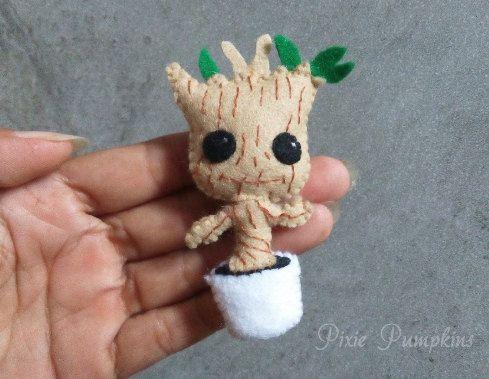 Ähnliche Artikel wie Filz Plüsch Baby Groot, Guardians Of The Galaxy ...