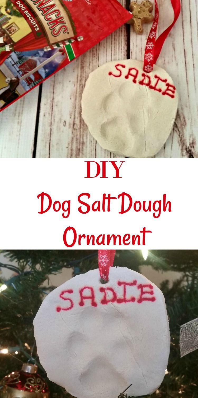 DIY Dog Salt Dough Ornament A Fun Christmas Decoration