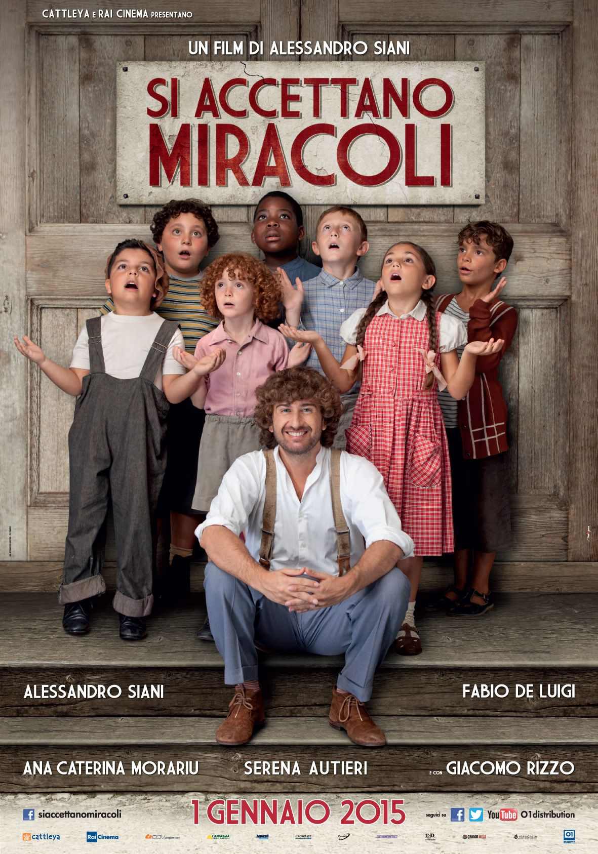 Si Accettano Miracoli Di Alessandro Siani 2015 Nuovi Film Film Registi