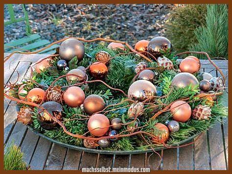 Einzigartige und Kreative Ideen zu Gunsten von die Weihnachtsdekoration #weihnachtendekorationdraussengarten
