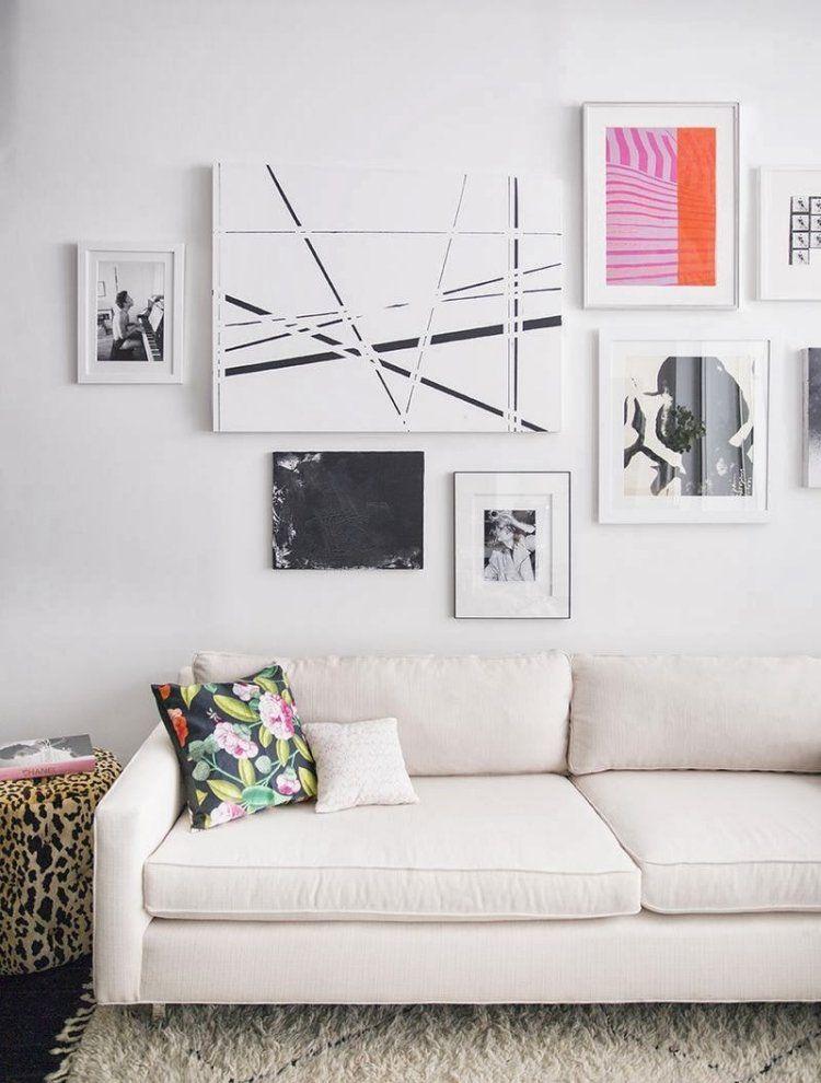 cadres photos dessins et tableaux 30 id es de d co murale d coration parement mural deco. Black Bedroom Furniture Sets. Home Design Ideas