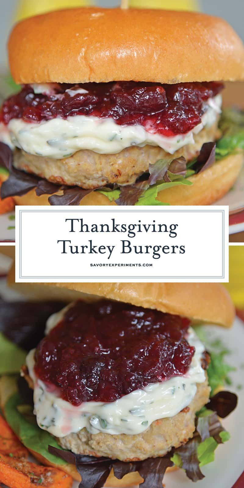 What Do You Get When You Combine Cranberry Sauce Turkey And A Brioche Roll These Amazing Thanksgiv Turkey Burger Recipes Turkey Burgers Ground Turkey Burgers