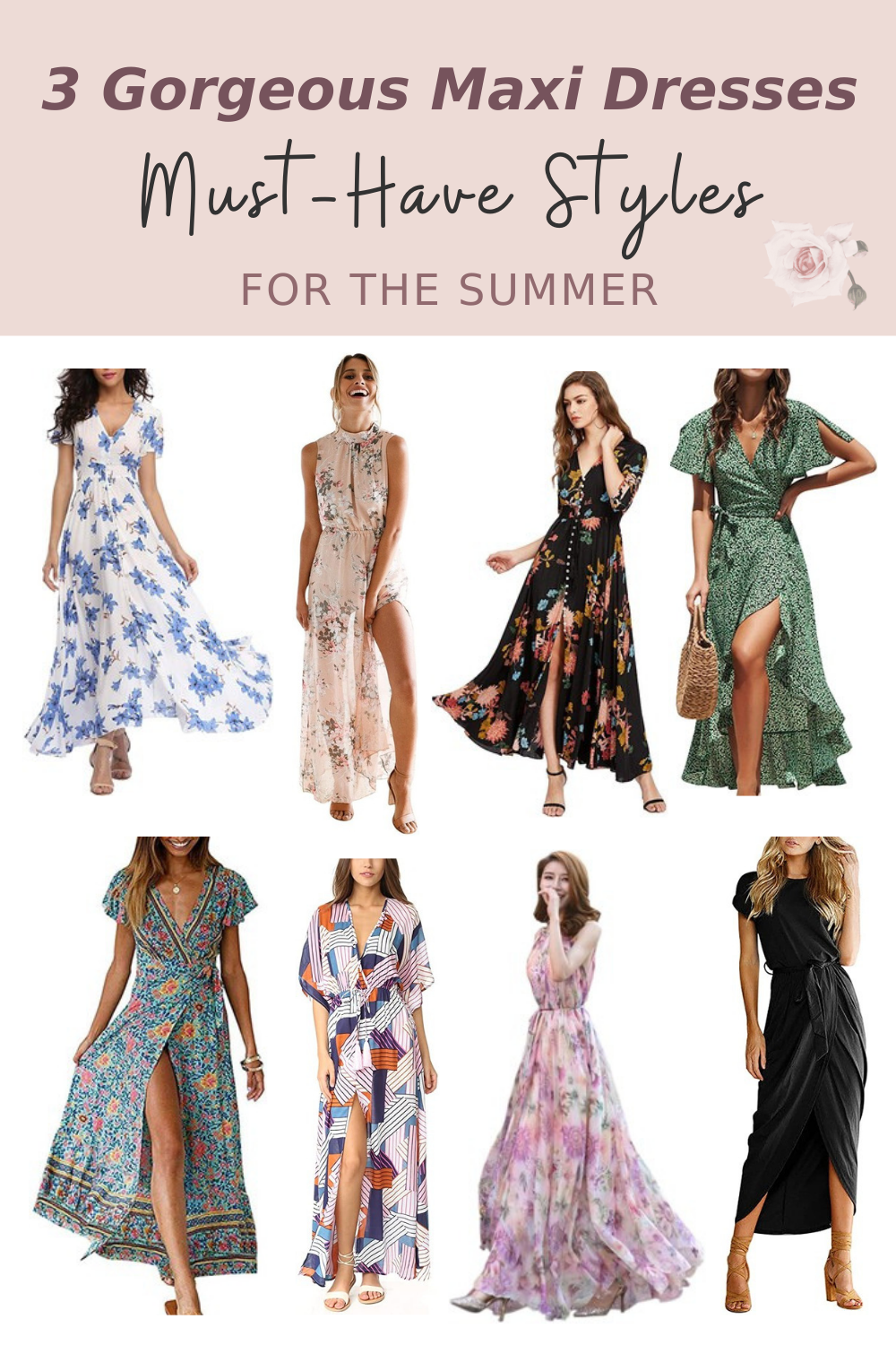 3 Gorgeous Maxi Dress Styles You Ll Want Wear This Summer Gorgeous Maxi Dresses Style Maxi Dress Summer Fashion Outfits [ 1500 x 1000 Pixel ]