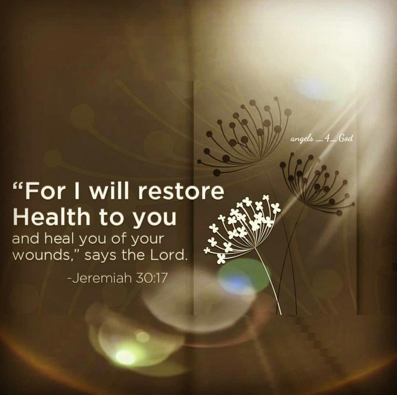 Bible Verses About Healing Jeremiah
