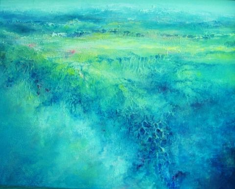 Where Land Meets Sea - New Zealand - Leisa Collins Art