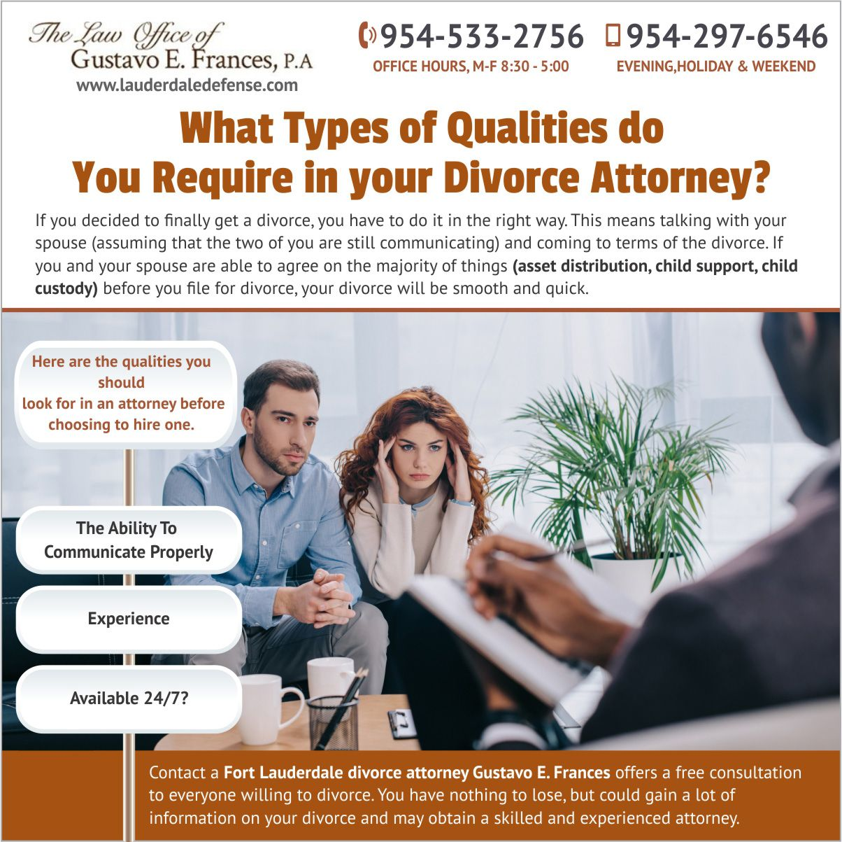 If you decided to finally get a divorce you have to do it