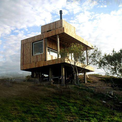 Vivienda Summer House In Uruguay Tiny House Cabin