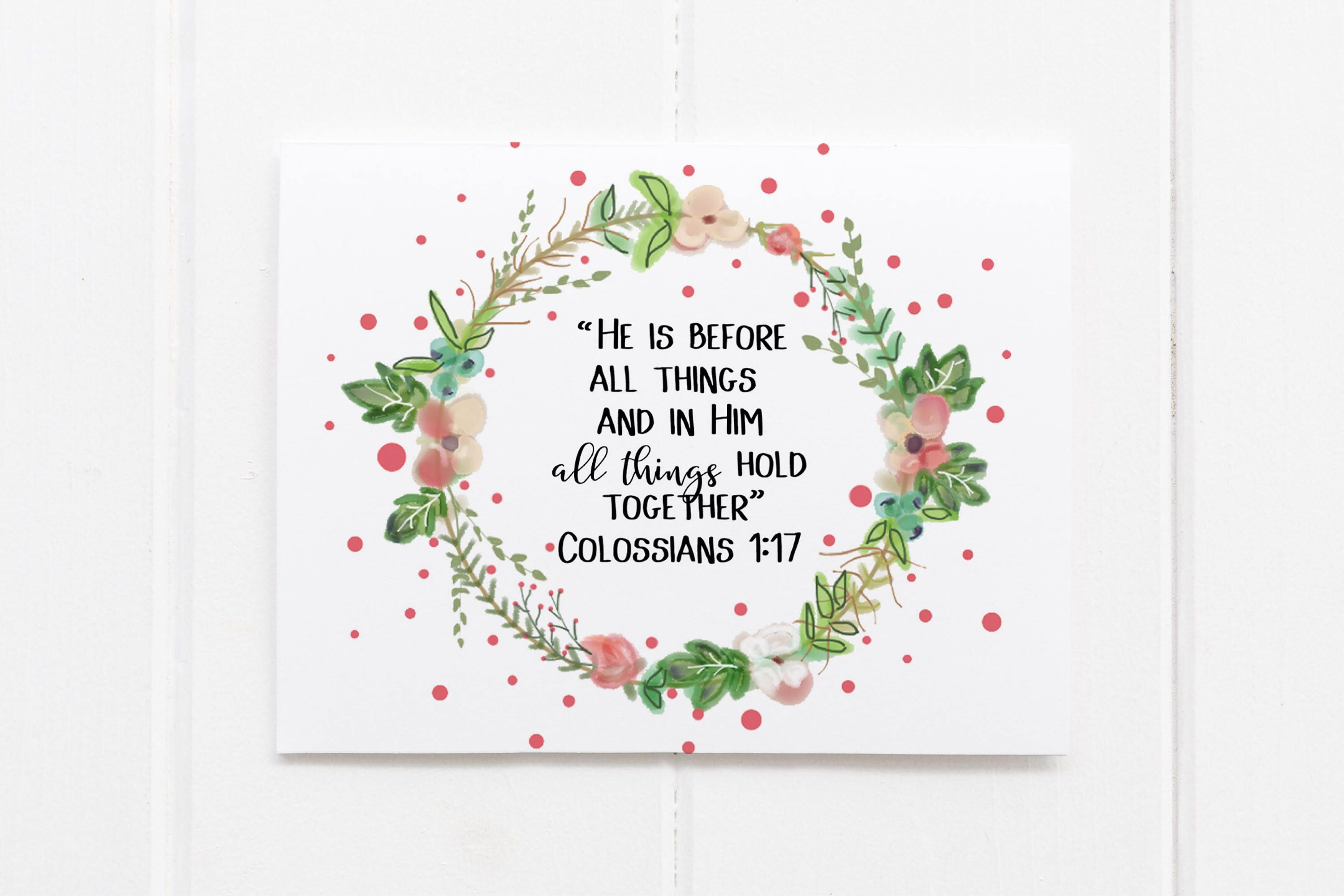 custom greeting card greeting card set with bible verse thinking of you card sympathy card stationary hand drawn christian by elouisedesigns on - Bible Verses For Sympathy Cards