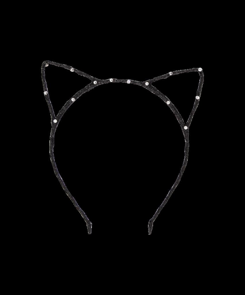 Pin By Everaftershop On Girls Black Cat Ears Headband Cat Ears Headband Ear Headbands