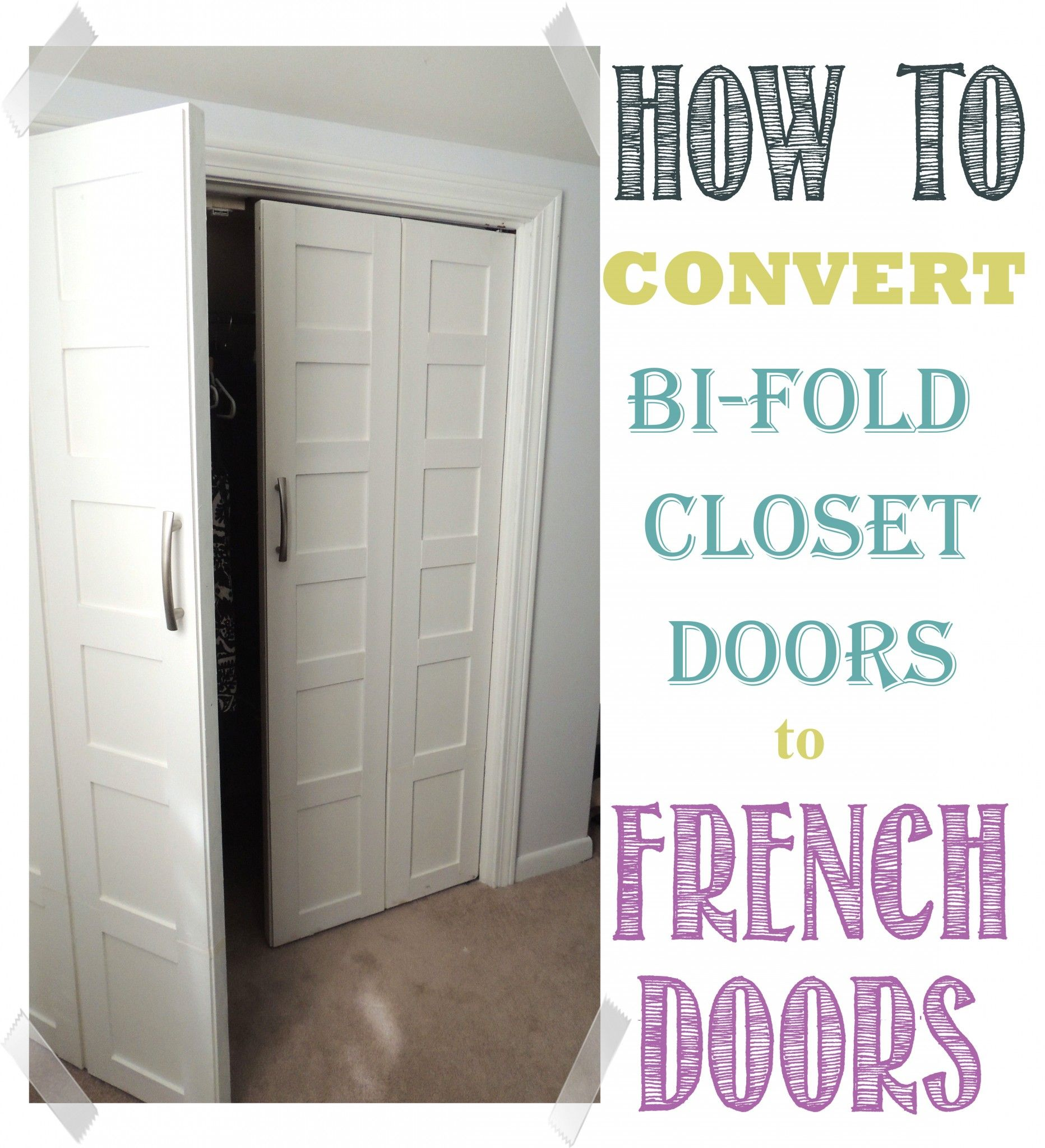Convert Bifold Doors To French Doors Easily