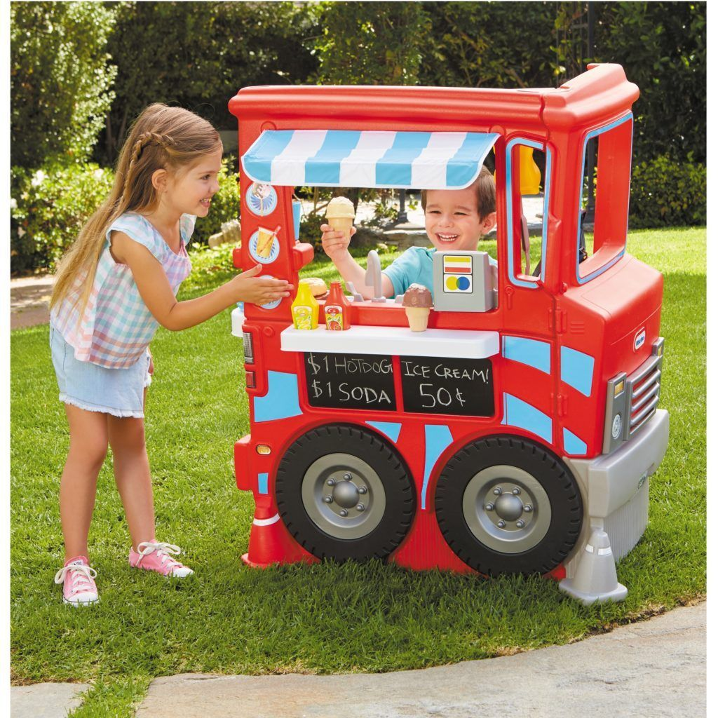 Little Tikes 2in1 Food Truck Play Kitchen with 20