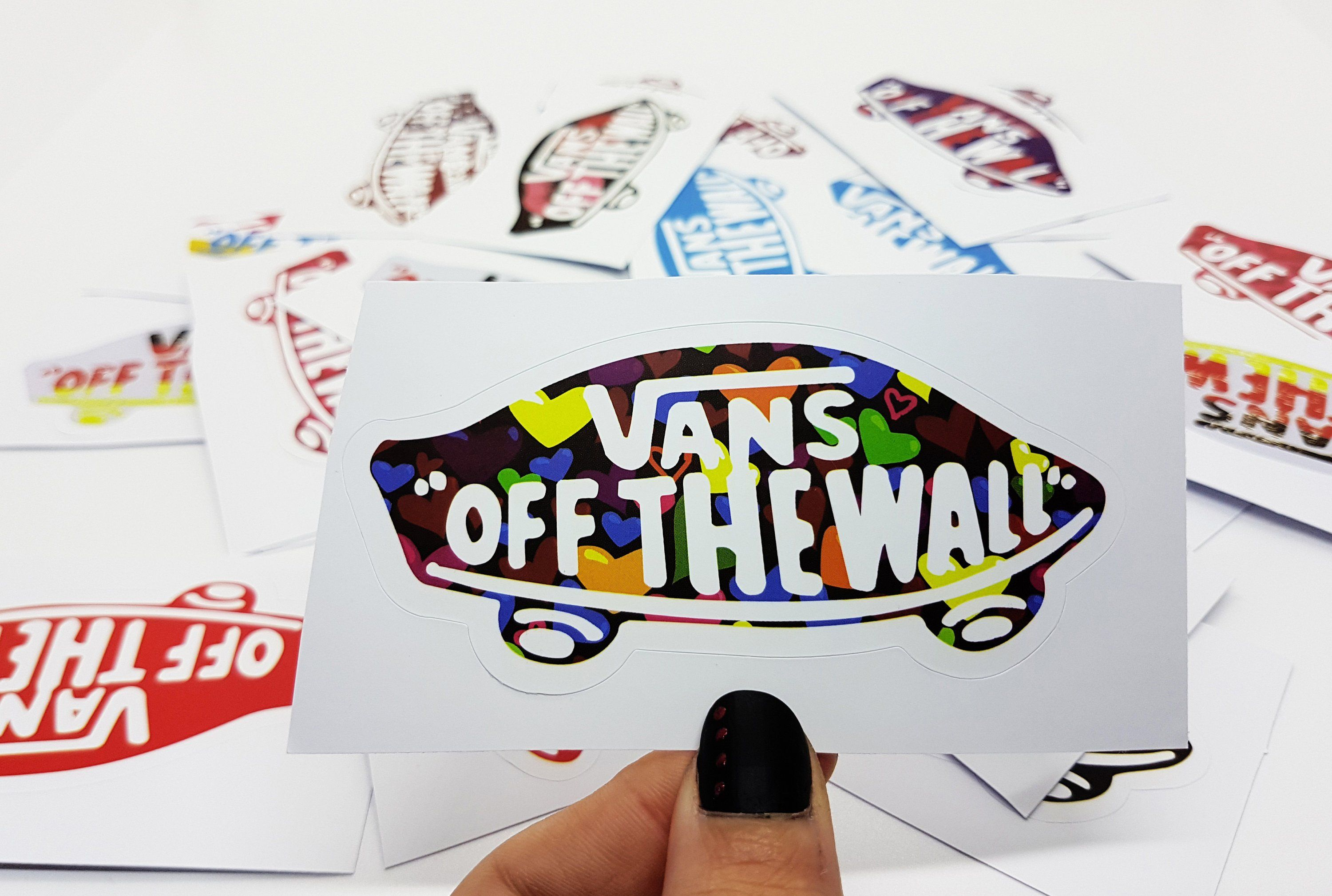 cabcbfdef151 Vans shoes off the wall stair stickers macbook pro sticker