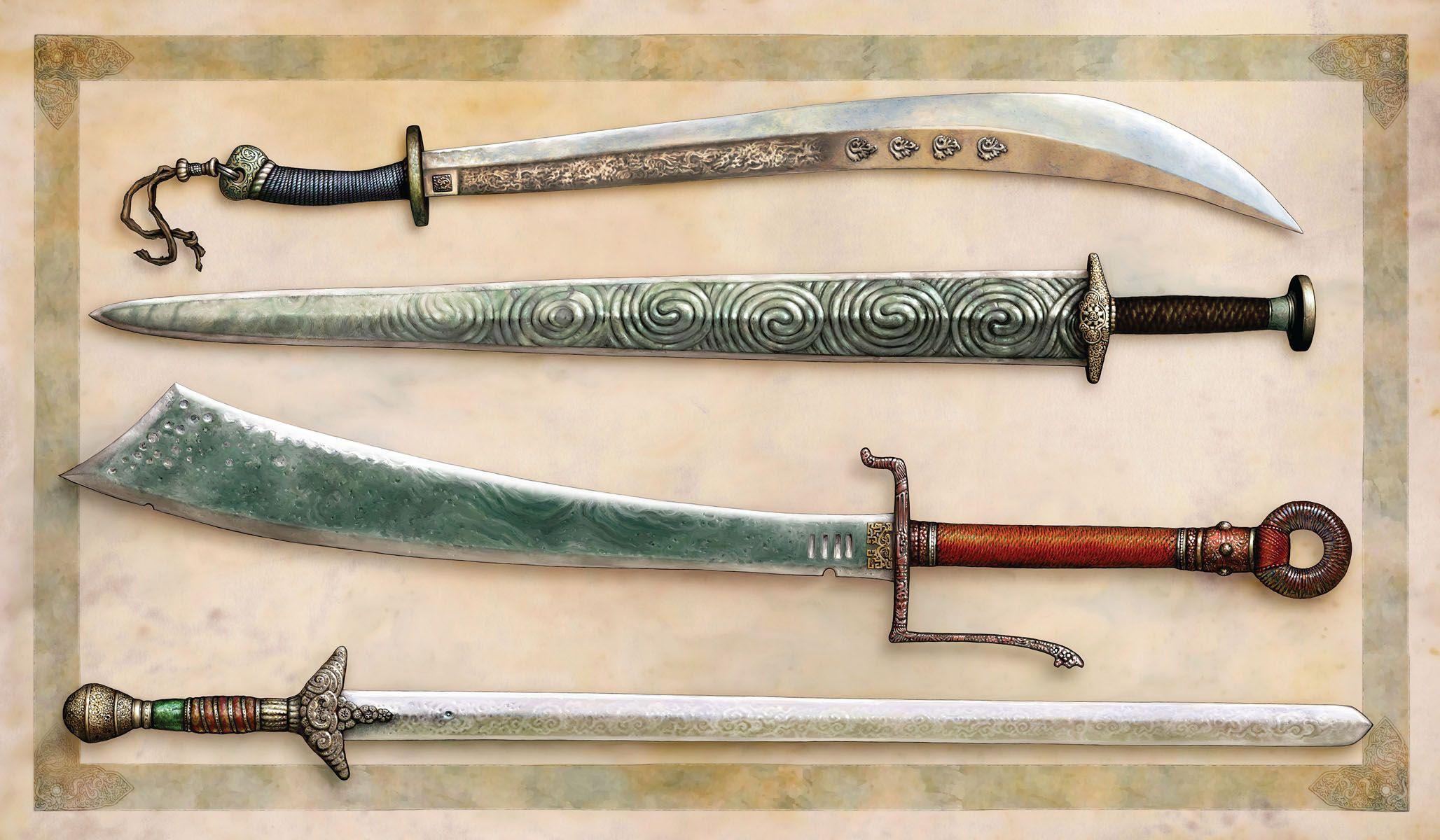 способ картинки как делать мечи того, чтобы