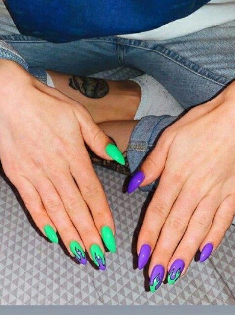 Pin By Latosha On Nail Polish Care In 2020 Fire Nails Swag Nails Blue Nails