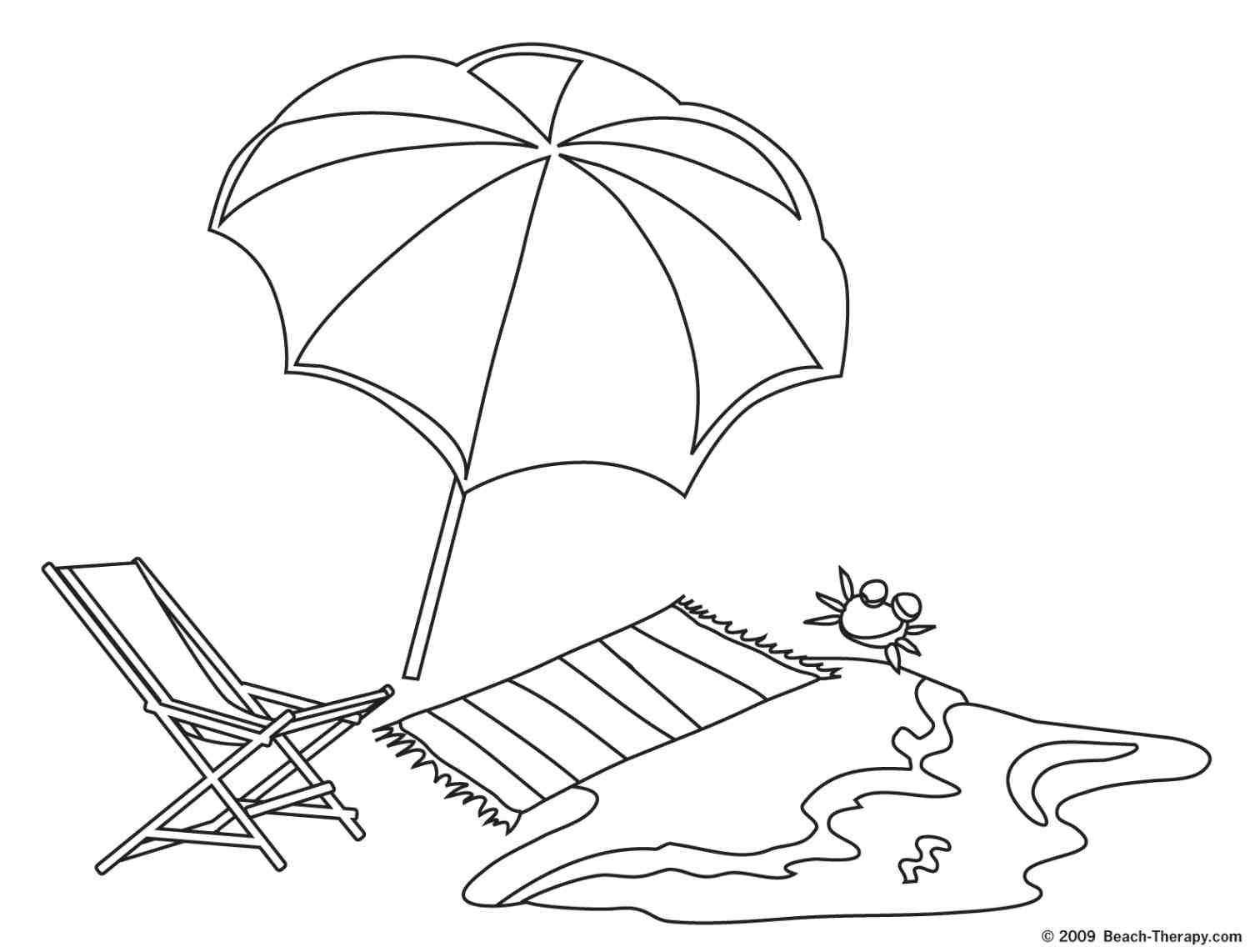 Nice Beach Pictures To Color Special Picture Umbrella Coloring Page Beach Coloring Pages Coloring Pages Winter
