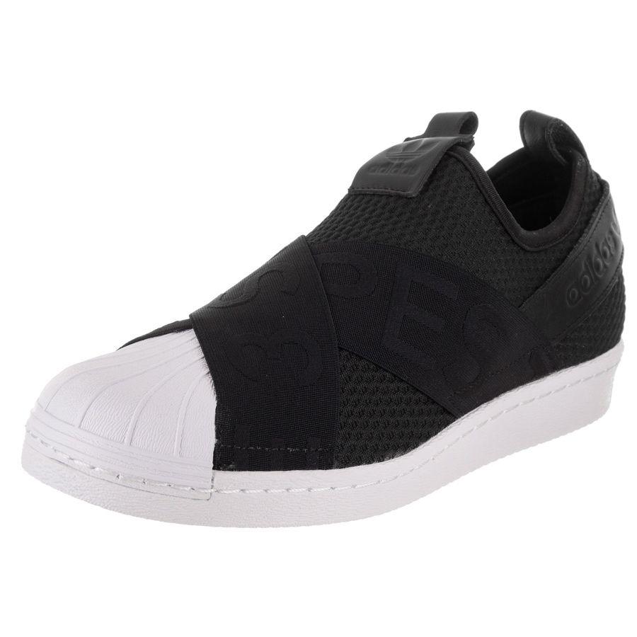 adidas superstar della donna scivolare su originali casual scarpa styles