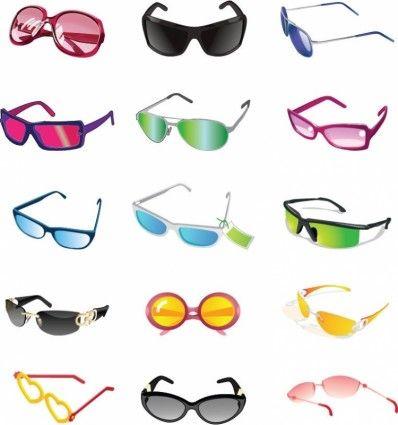 Bright Sunglasses Clip Art