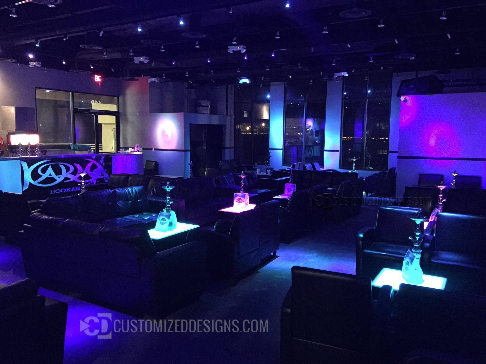 Interior Design Ideas Hookah Lounge Minimalist Style Interior