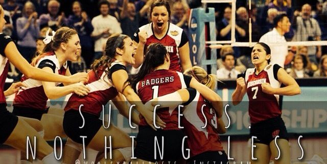 Volleyball Inspiration Wisconsin Volleyball Volleyball Inspiration Volleyball Setter Volleyball Quotes