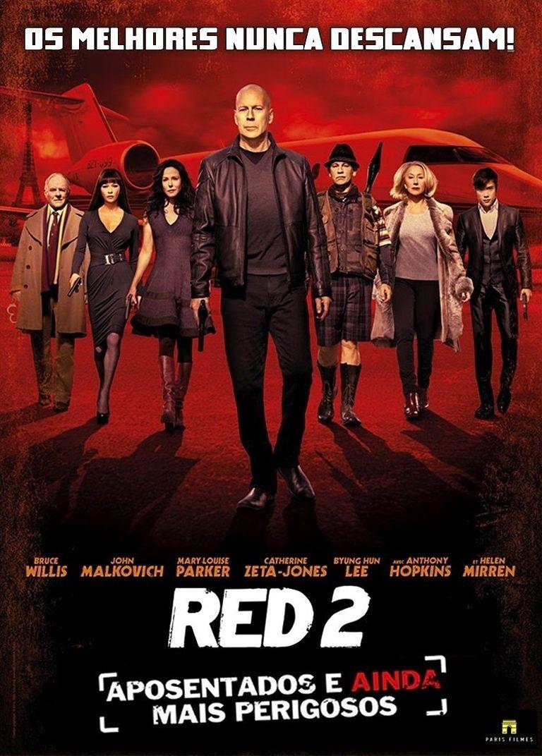 2013 Red 2 Aposentados E Ainda Mais Perigosos Baixar Filmes