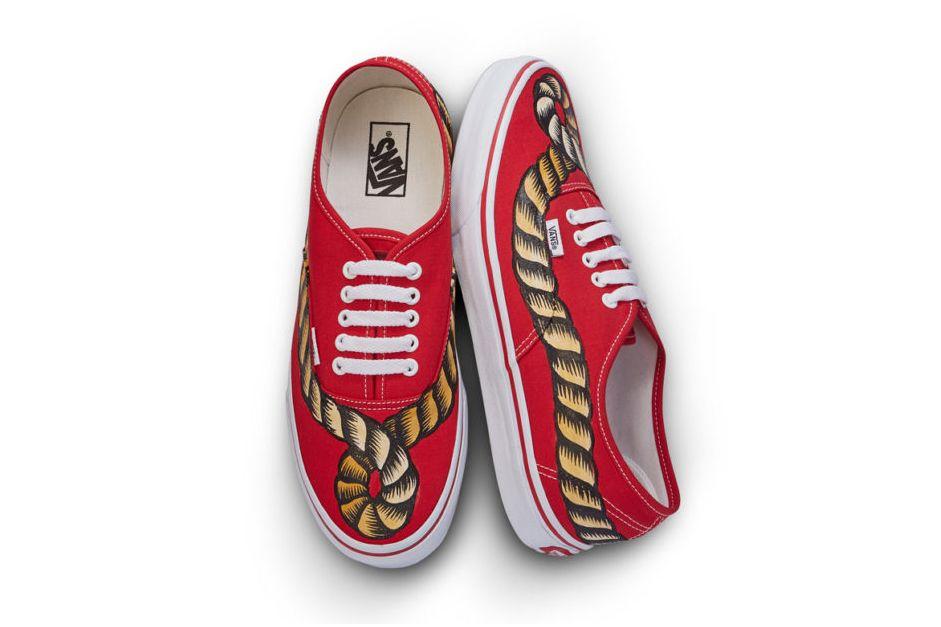 Vans Taps A La Garconne For New Authentic Collaboration Vans Sneakers Vans Classic Slip On Sneaker