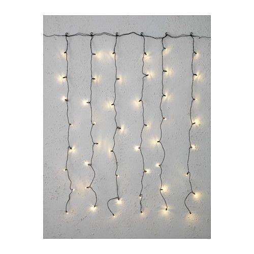 Ikea Wall Decor Led Curtain Lights Curtain Lights Fairy Lights Decor