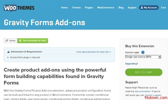 Woocommerce Gravity Forms Add Ons V2 5 2 Download Woocommerce Ads Plugins